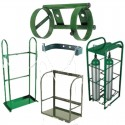 Cylinder Support Equipment (Cages, Stands, Racks, Caps)