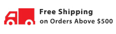 Free Shipping on Orders Above $300